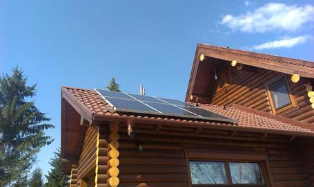 Sisteme fotovoltaice mici – case de vacanta – 230V c.a.