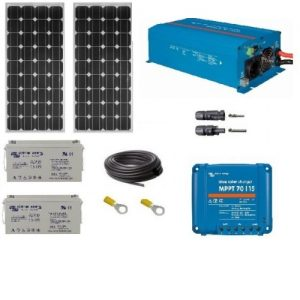 Kit-uri fotovoltaice cu invertor