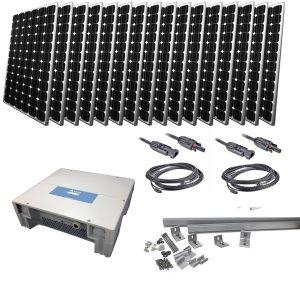 Kituri fotovoltaice on- grid