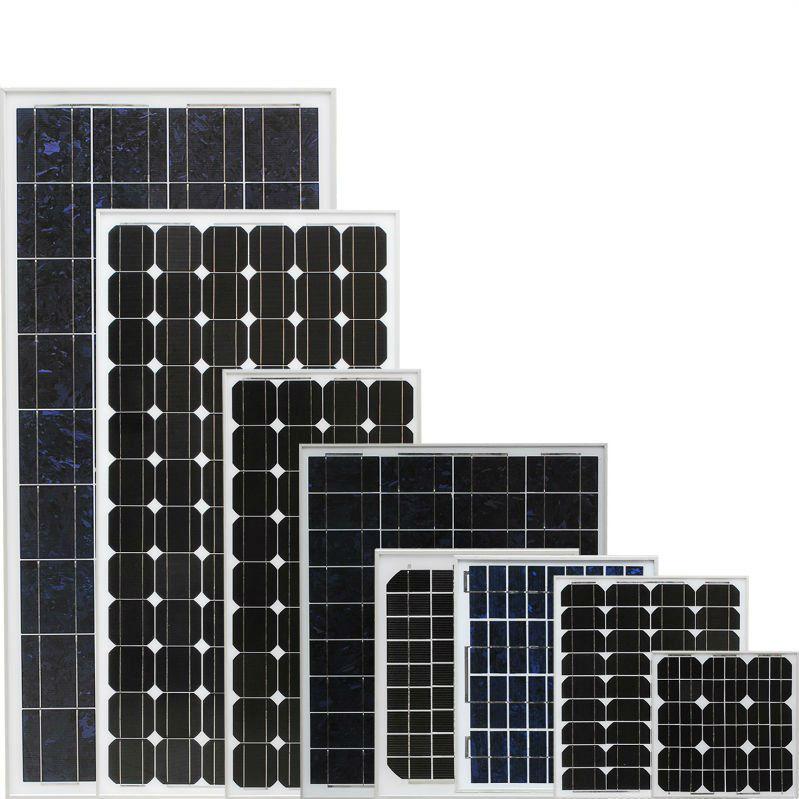 Panouri fotovoltaice cu 36 celule (30Wp-140Wp)