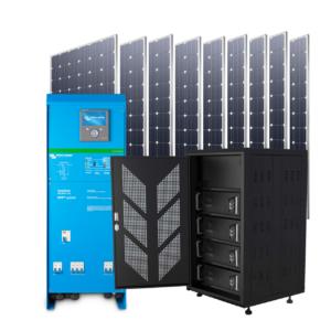 Kituri fotovoltaice autoconsum cu baterii Li-ion