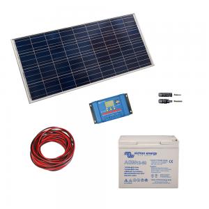 Kit fotovoltaic cu panou de 115Wp