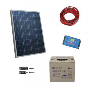 Kit fotovoltaic cu panou de 30Wp