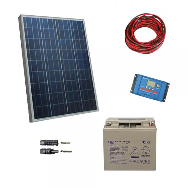 Kit fotovoltaic cu panou de 60Wp