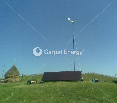 Sistem off-grid hibrid 1.15kW – Marginimea Sibiului