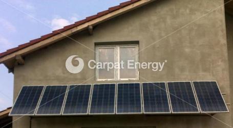 Sistem fotovoltaic independent 1kW – Sibiu
