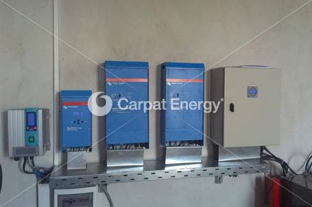 Sistem hibrid 2,45 kWp Campenesti