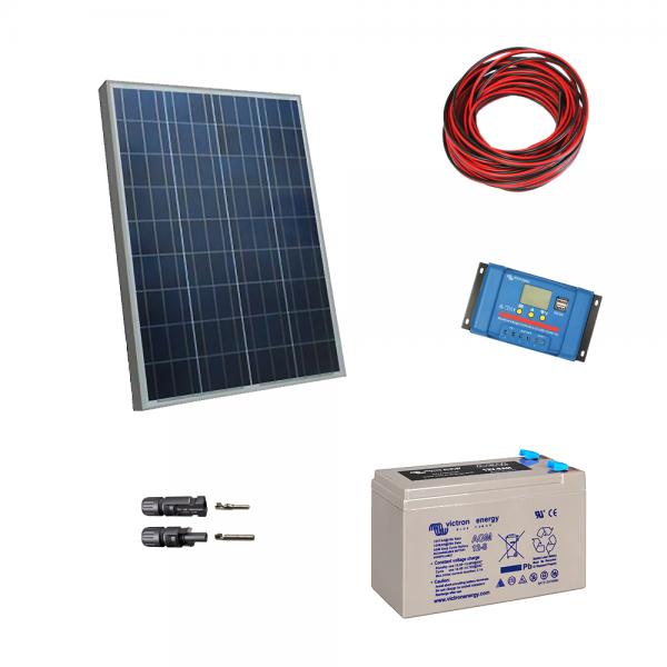 Kit fotovoltaic cu panou de 20Wp