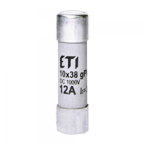 Siguranta fuzibila c.c. ETI 1000V, 12A