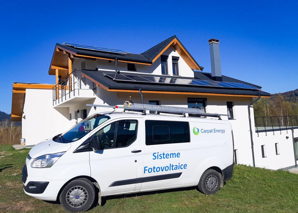 Sistem fotovoltaic off-grid 5.4kWp - Ceahlau